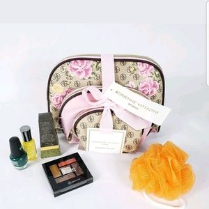 3 piece cosmetic toiletry travel bags